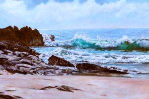 Low-tide Little Beach – Scotts Head