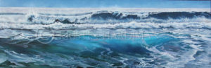 Big Wave 1 seascape Kristin Hardiman